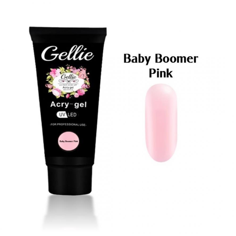 GELLIE ACRYGEL BABY BOOMER PINK 60ml