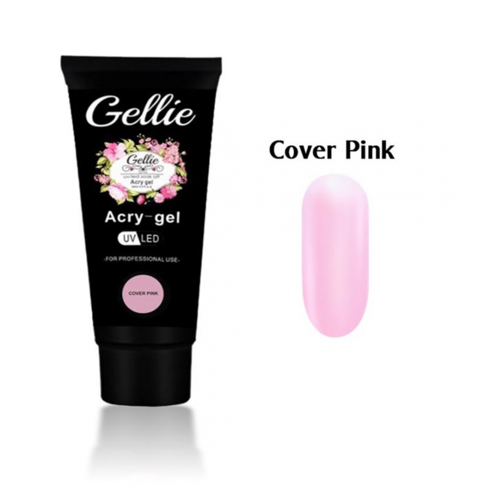 GELLIE ACRYGEL COVER PINK 60ml