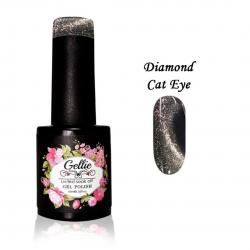 Ημιμόνιμο Βερνίκι Gellie Diamond Cat Eye 01 10ml