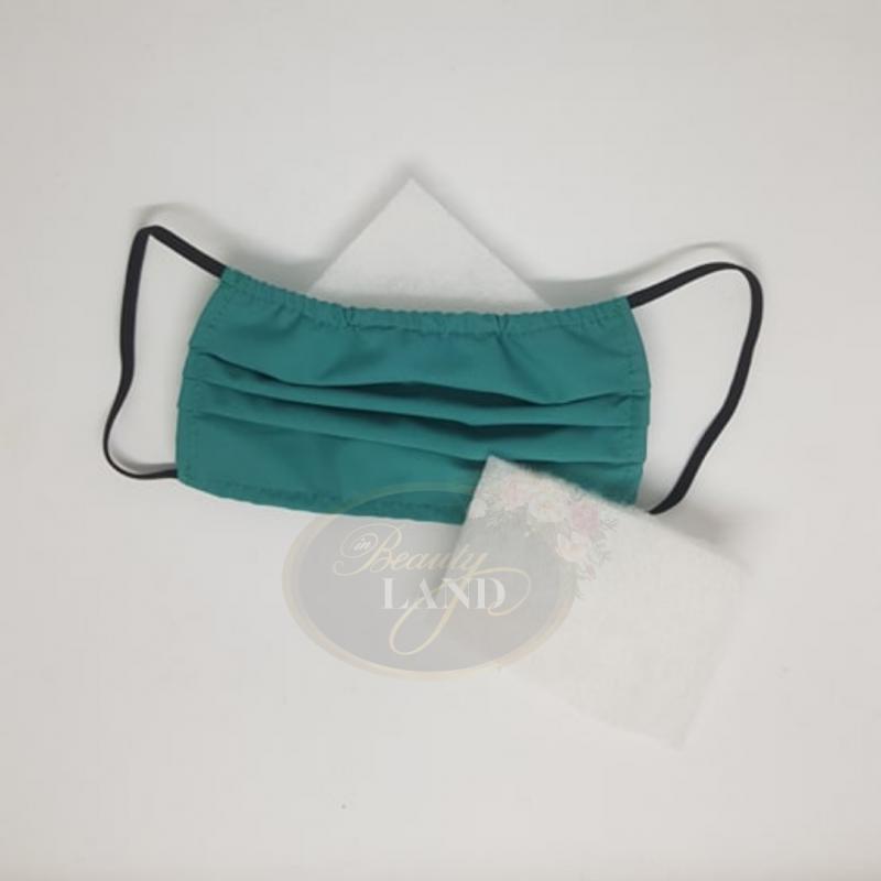 Μάσκα Πολλαπλών Χρήσεων Βαμβακερή 100% Με 1 Φίλτρο G4 Πράσινη