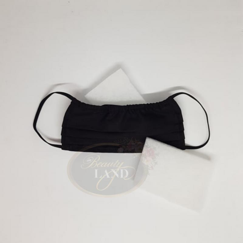 Μάσκα Πολλαπλών Χρήσεων Βαμβακερή 100% Με 1 Φίλτρο G4 Μαύρη