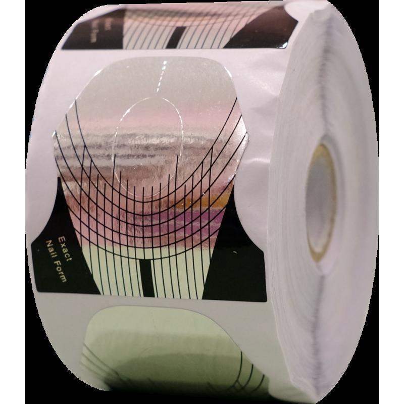 Paw Αυτοκόλλητες Φόρμες Χτισίματος Ασημί 500τμχ