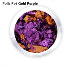 J.K FOILS POT GOLD PURPLE (260108)