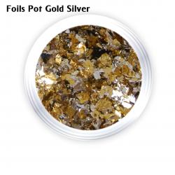 J.K FOILS POT GOLD - SILVER (260107)