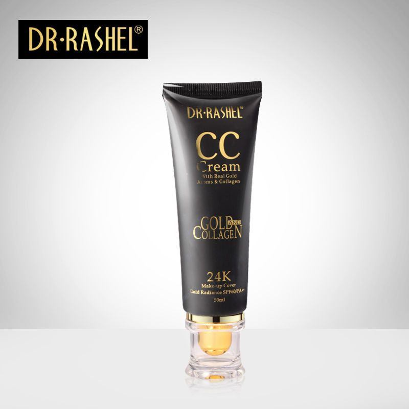 Glo Dr.Rashel Κρέμα Make Up 24k CC Με Αντηλιακή Προστασία Spf60/pa++ 50ml Natural (52746)
