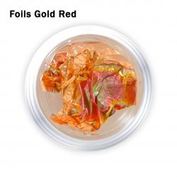 J.K FOILS POT GOLD RED (260104)