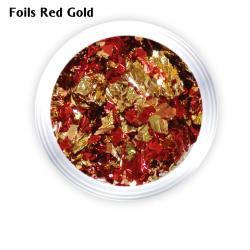 Foils Pot Red Gold J.K (260114)