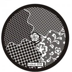 Stamping Plate Για Σχέδια Nail Art MAN HEHE 018