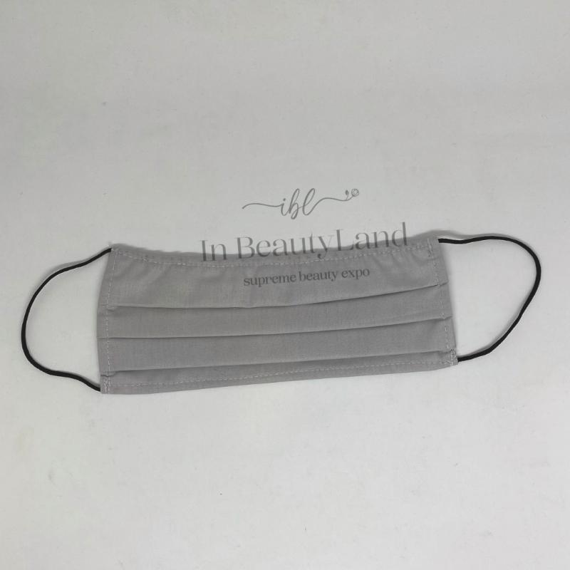 5τμχ. Αντρικές Μάσκες Πολλαπλών Χρήσεων Βαμβακερές 100% Γκρι