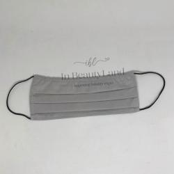 Μάσκα Πολλαπλών Χρήσεων Βαμβακερή 100% Γκρι