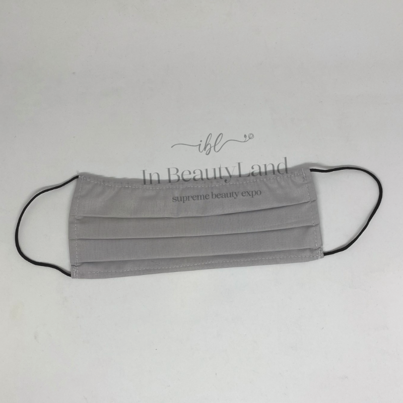 Αντρική Μάσκα Πολλαπλών Χρήσεων Βαμβακερή 100% Γκρι