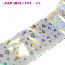 J.K  Laser Silver Foil 09(060256)