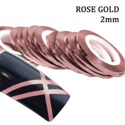 J.K STRIPE ROSE GOLD 2mm (022217)