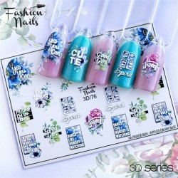 J.K FASHION NAILS 3D SLIDER 076 (114105)
