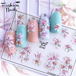 J.K FASHION NAILS 3D SLIDER 082 (114111)