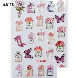 Αυτοκόλλητα Νυχιών J.K AM 3D Slider 048 (381073)