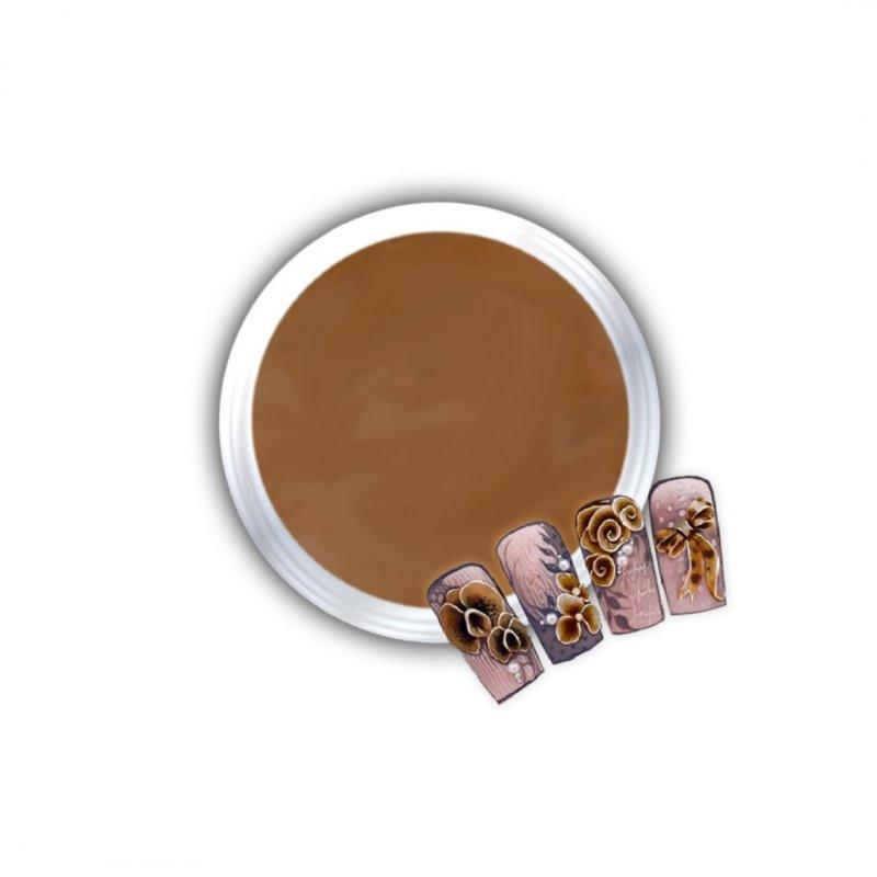 Gel Για 3D Δαντέλες Και Ανάγλυφα Σχέδια J.K 3D Lace Brown (140308)