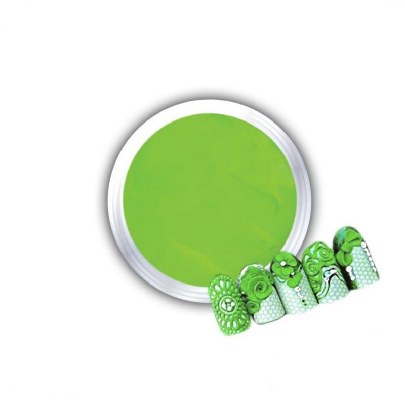 Gel Για 3D Δαντέλες Και Ανάγλυφα Σχέδια J.K 3D Lace Lime (140056)