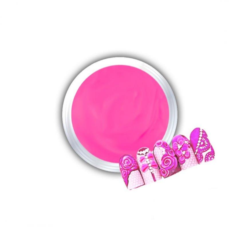 Gel Για 3D Δαντέλες Και Ανάγλυφα Σχέδια J.K 3D Lace Magenta (140055)