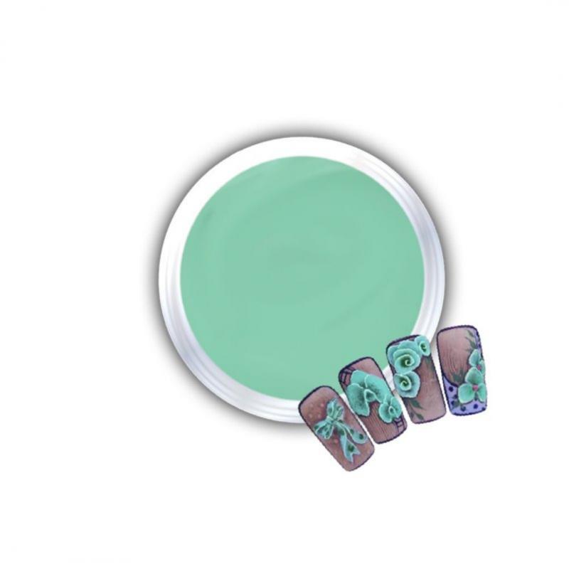 Gel Για 3D Δαντέλες Και Ανάγλυφα Σχέδια J.K 3D Lace Mint (140063)