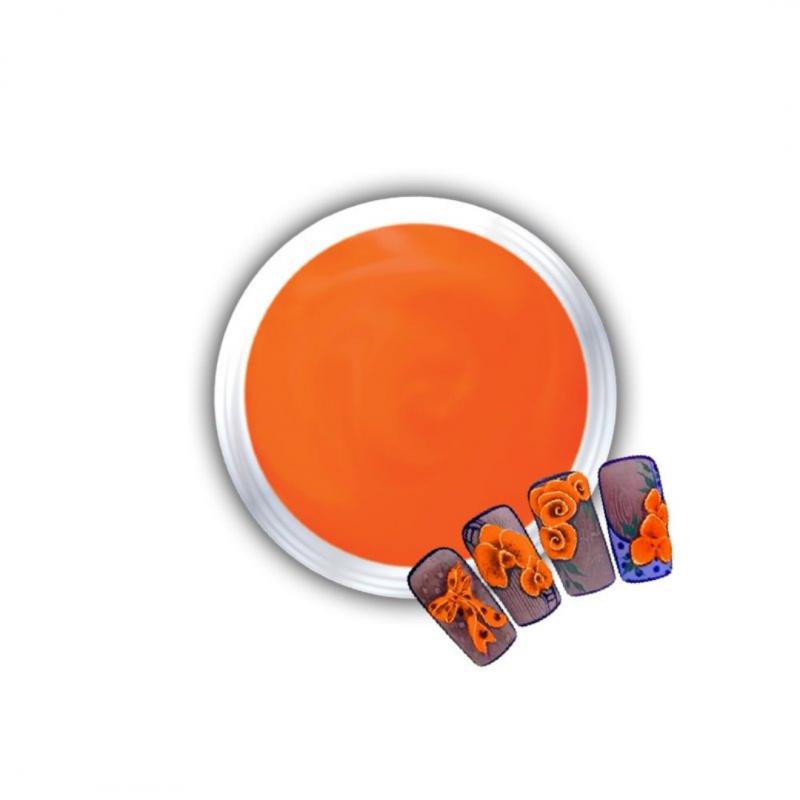 Gel Για 3D Δαντέλες Και Ανάγλυφα Σχέδια J.K 3D Lace Orange (140306)