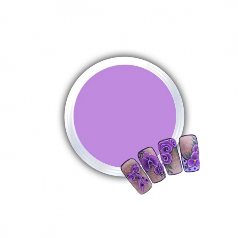 Gel Για 3D Δαντέλες Και Ανάγλυφα Σχέδια J.K 3D Lace Purple (140061)