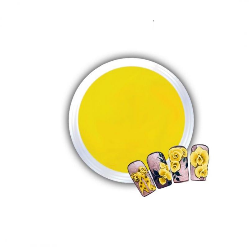 Gel Για 3D Δαντέλες Και Ανάγλυφα Σχέδια J.K 3D Lace Yellow (140059)