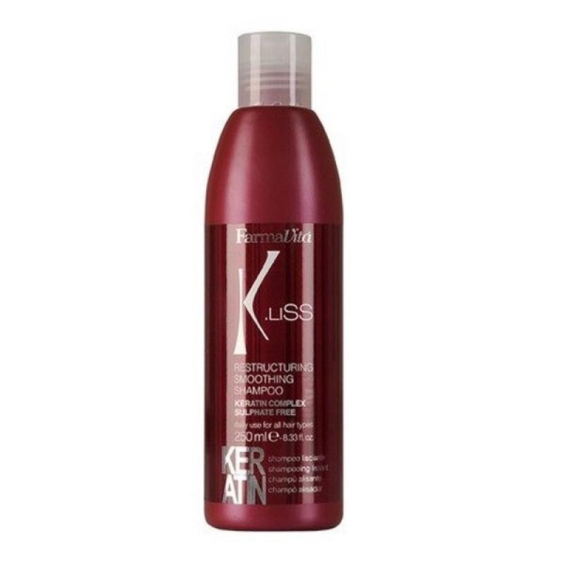 Σαμπουάν Αναδόμησης Και Λείανσης Μαλλιών K.Liss Restructuring Smoothing Shampoo 250ml (660003)
