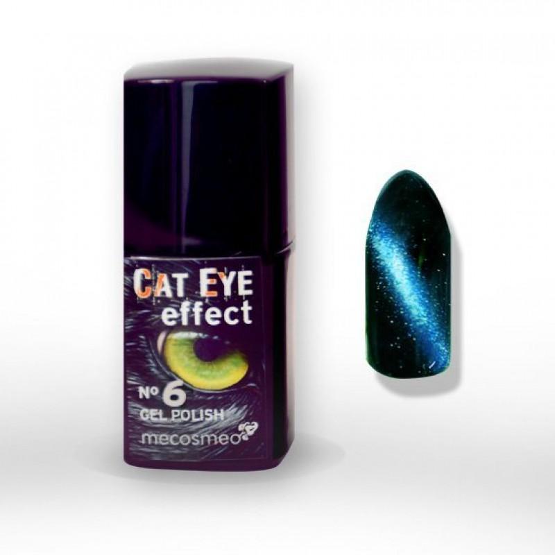 Ημιμόνιμο βερνίκι Mecosmeo Cateye Effect Nr.6 10ml