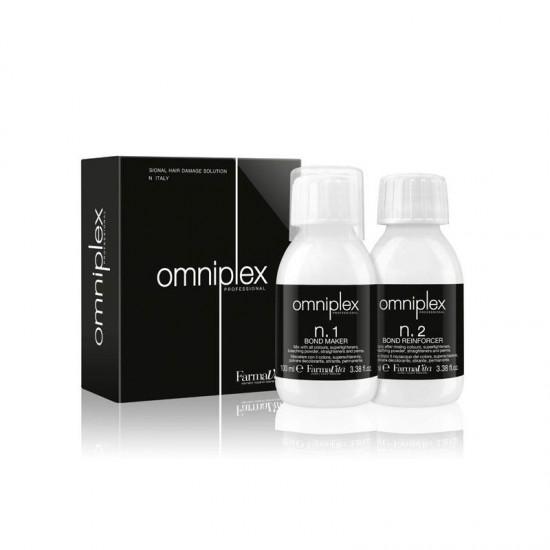 Θεραπεία Για Κατεστραμμένα Μαλλιά Omniplex Compact Kit 100ml