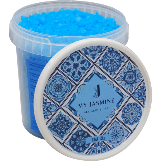 'Aλατα Μπάνιου Και Πεντικούρ My Jasmine Ocean Soap 1.5kg