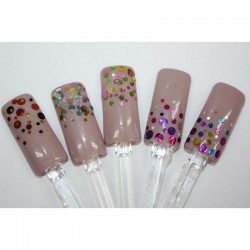 NM NAIL ART (CONFETTI + NO)