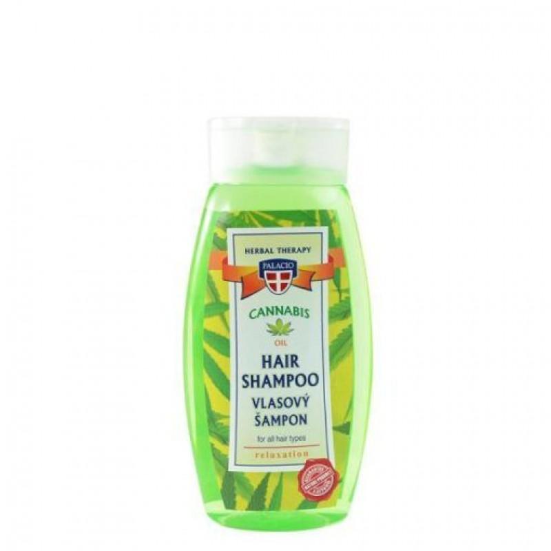Σαμπουάν Κάνναβης Για Όλους Τους Τύπους Μαλλιών Palacio Cannabis Shampoo 2% 250ml