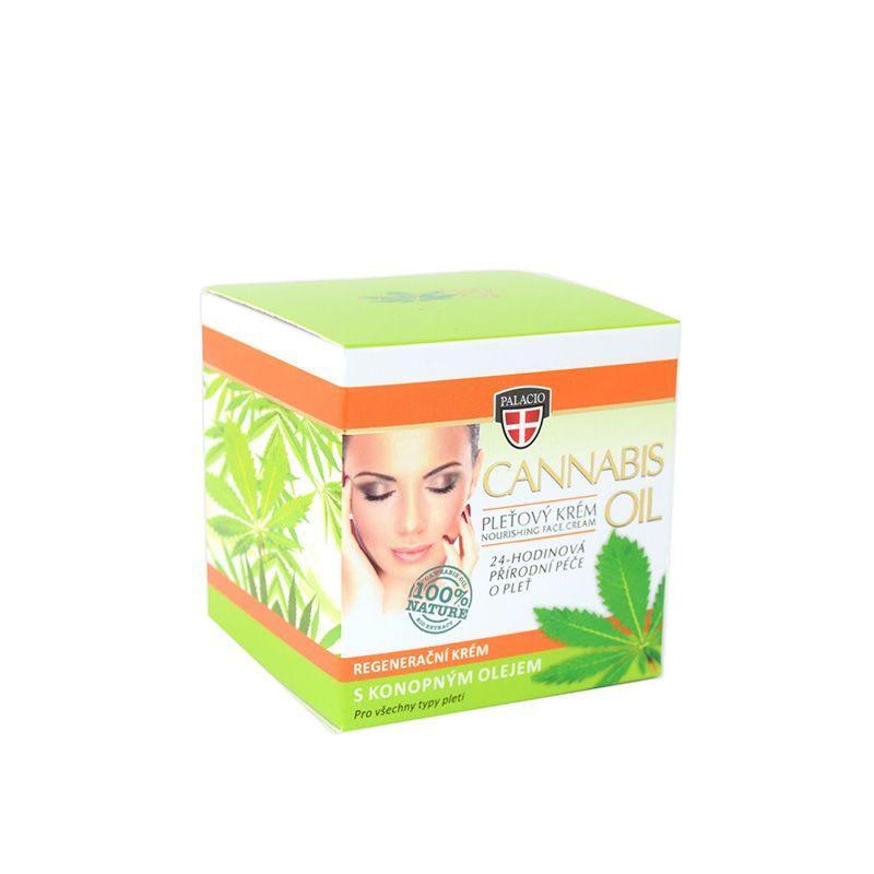 Κρέμα Προσώπου Με Έλαιο Κάνναβης Palacio Cannabis Face Cream 12% 50ml