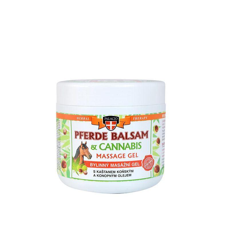 Gel Για Μασάζ Σώματος Με Αγριοκάστανο Και Έλαιο Κάνναβης Palacio Cannabis Massage Gel 5% 500ml