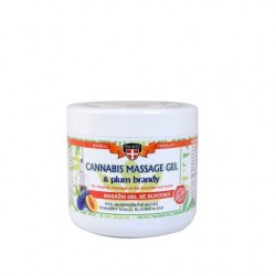 Gel Για Mασάζ Σώματος Με Έλαιο Κάνναβης Palacio Cannabis Massage Gel with Plum Brandy 600ml
