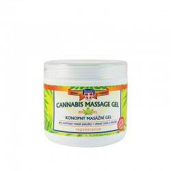 Φυτικό Gel Σώματος Με Έλαιο Κάνναβης Palacio Cannabis Massage Gel 5% 600ml