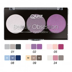 QUIZ BEAUTY OBSESSION EYESHADOW PALETTE