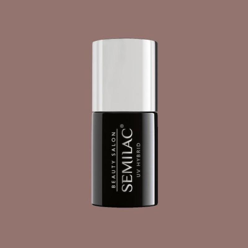 H002 Ημιμόνιμο Βερνίκι Semilac Beauty Salon Nude Beige 7ml