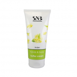 SNB LINDEN HANDS AND BODY BUTTER CREAM 200ml