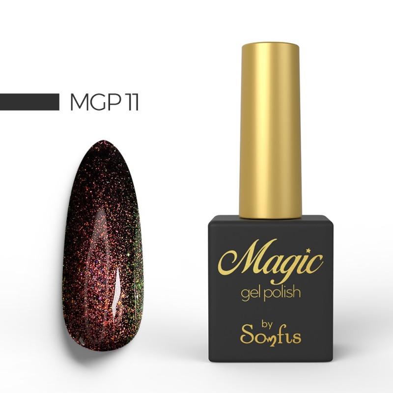 Ημιμόνιμο Βερνίκι MGP11 Magic Gel Polish by Somfis 9ml