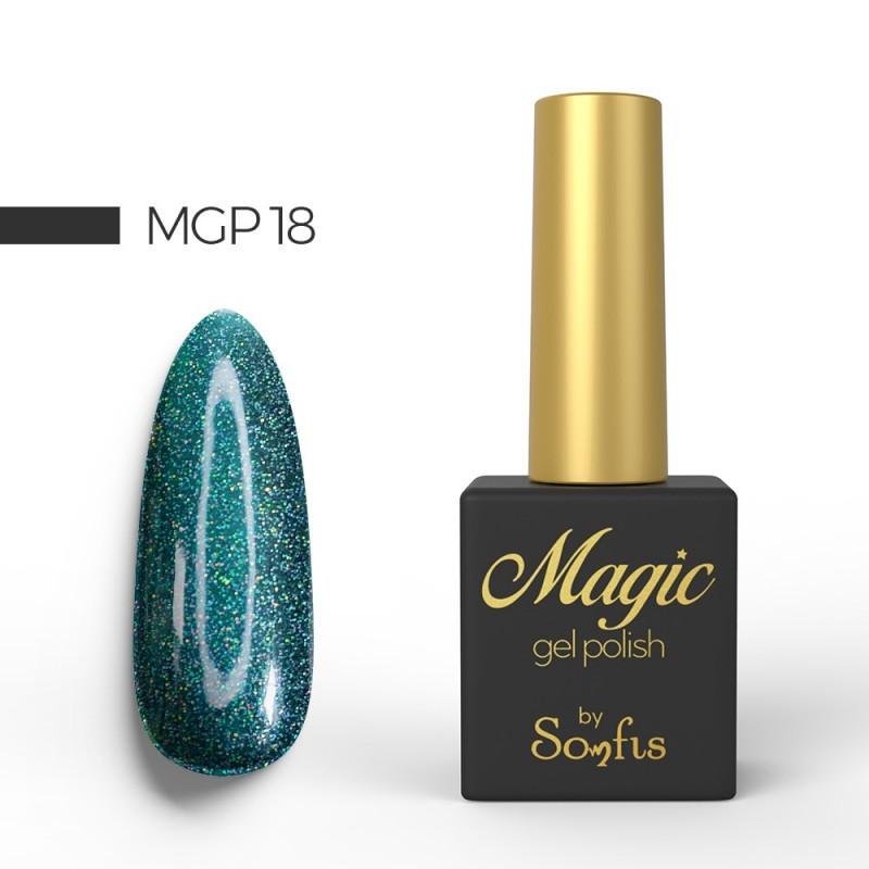 Ημιμόνιμο Βερνίκι MGP18 Magic Gel Polish by Somfis 9ml