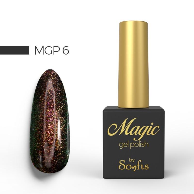 Ημιμόνιμο Βερνίκι MGP6 Magic Gel Polish by Somfis 9ml