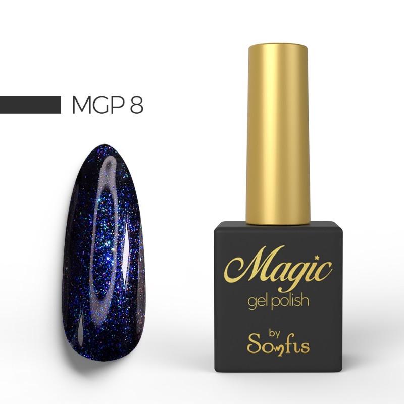 Ημιμόνιμο Βερνίκι MGP8 Magic Gel Polish by Somfis 9ml