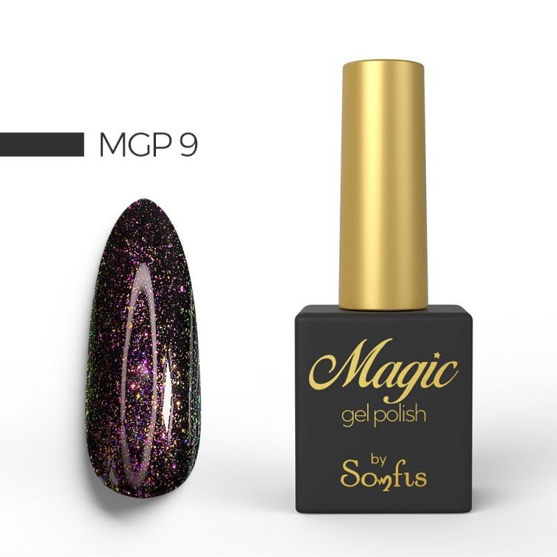 Ημιμόνιμο Βερνίκι MGP9 Magic Gel Polish by Somfis 9ml