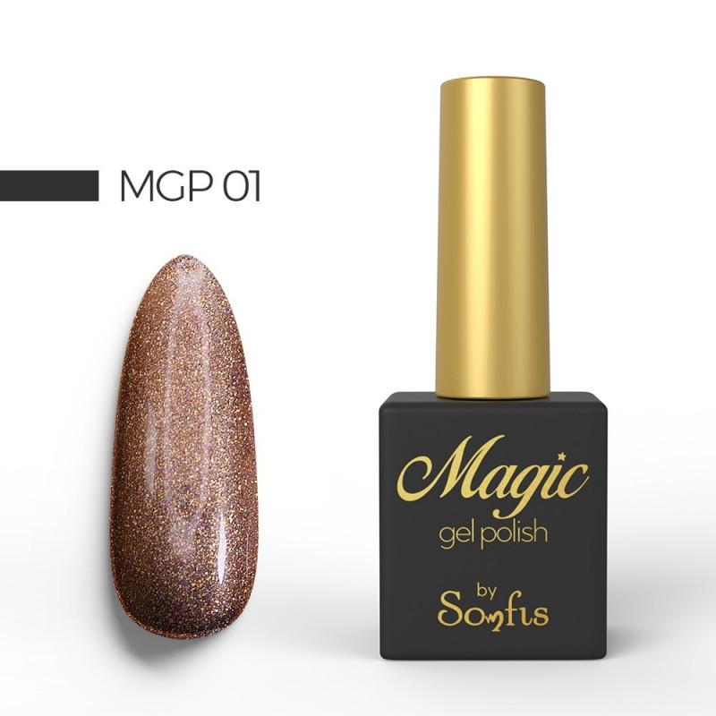 Ημιμόνιμο Βερνίκι MGP1 Magic Gel Polish by Somfis 9ml