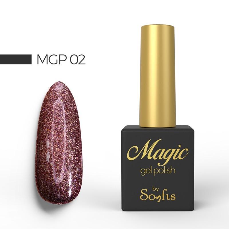 Ημιμόνιμο Βερνίκι MGP2 Magic Gel Polish by Somfis 9ml