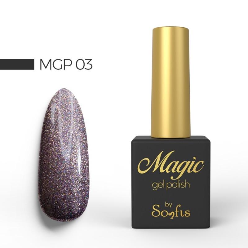 Ημιμόνιμο Βερνίκι MGP3 Magic Gel Polish by Somfis 9ml