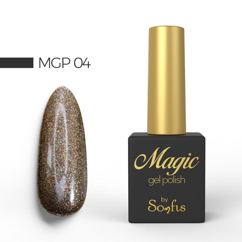 Ημιμόνιμο Βερνίκι MGP4 Magic Gel Polish by Somfis 9ml