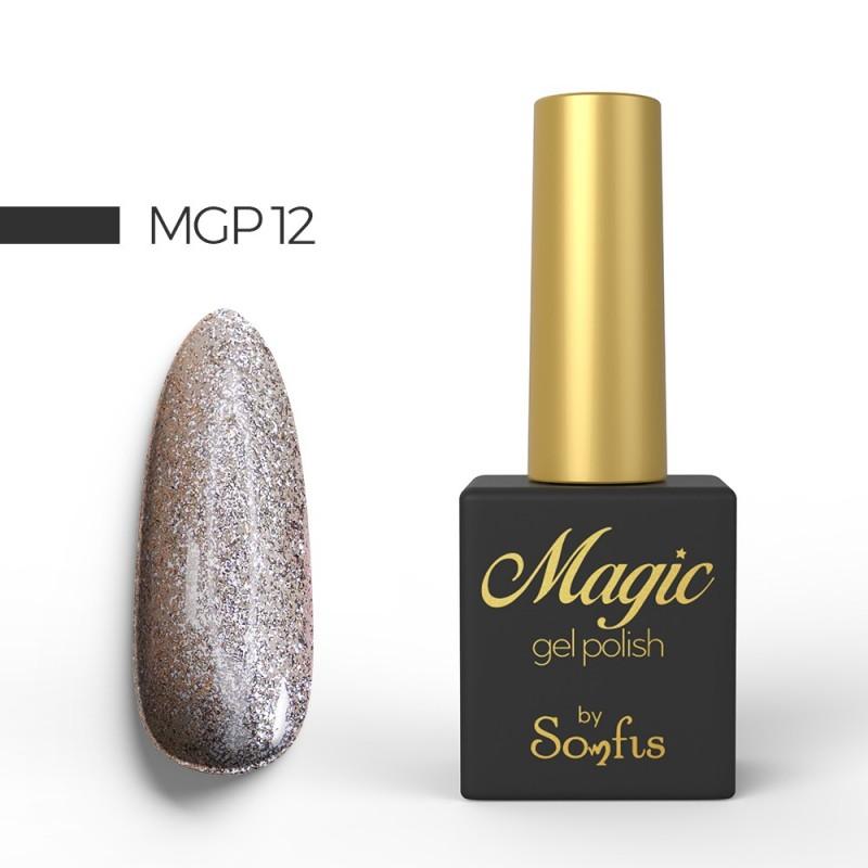 Ημιμόνιμο Βερνίκι MGP12 Magic Gel Polish by Somfis 9ml